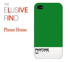 Pantone iPhone case - and green is the color of the season