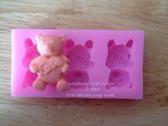 Bear & hear silicone soap molds.  https://www.facebook.com/DreamSoapbyThanya