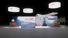 Backlit exhibition stand for Reisemesse Benzer Touristik Peine. Stand Design, Berlin, Wordpress, Website, Designs, Exhibit, Medium, Gallery, Light And Space