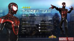 Miles Morales in Marvel Contest of Champions
