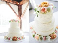 Classic Wedding Cake We Absolutely Adore!