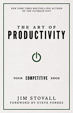 The Art of Productivity: Your Competitive Edge by Jim Sto I Love Books, Good Books, Books To Read, Self Development Books, Personal Development, Best Books For Men, Reading Motivation, Book Projects, Inspirational Books