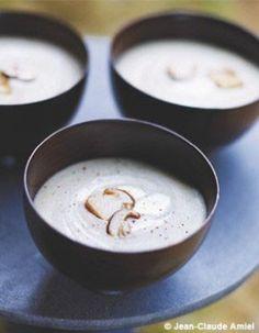 Velouté de champignons à la crème