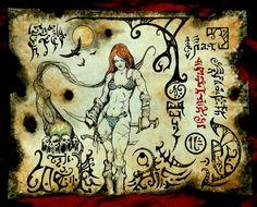 Hyrkanian She Devil by MrZarono.deviantart.com on @DeviantArt