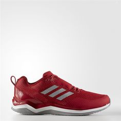 fc4aa5bfbdb Adidas Speed Trainer 3 Shoes (Power Red   Metallic Silver   Running White)  Adidas