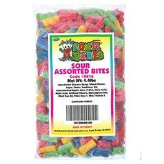 Sour Dudes Assorted Bites (4.4 lbs)