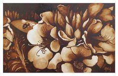 "Steven Mikel ""Incoming"" — Dark Roast Watercolor"
