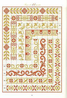 Cross Stitch border Cross Stitch patterns by PatternsTemplates Cross Stitch Boarders, Cross Stitch Pillow, Cross Stitch Love, Beaded Cross Stitch, Cross Stitch Flowers, Modern Cross Stitch, Cross Stitch Charts, Counted Cross Stitch Patterns, Cross Stitch Designs