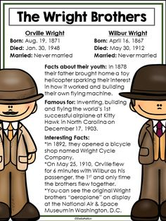 Inventors The Wright Brothers
