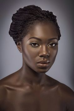 African beauty, african women, black girl magic, black girls rock, black be Dark Skin Tone, Brown Skin, Hair Afro, Dark Skin Beauty, Ebony Beauty, Foto Art, My Black Is Beautiful, Black Women Art, Black Girls Rock