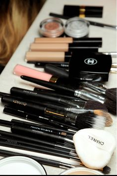 chanel... Looks like my vanity lol