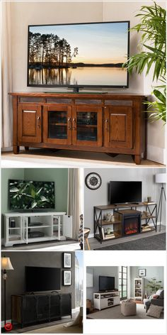 Shop Target for entertainment console you will love at great low prices. Free shipping on orders of $35+ or free same-day pick-up in store. Redo Furniture, Diy Furniture, Family Room, Home, Salas Living Room, Diy Home Decor, Entertainment Console, Modern Farmhouse Kitchens, Corner Fireplace Living Room