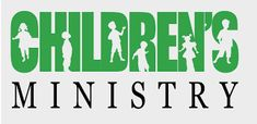 Silhouette of children for Kids Ministry SIGNS