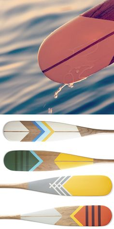 Handsomely crafted paddles from Norquay Co.