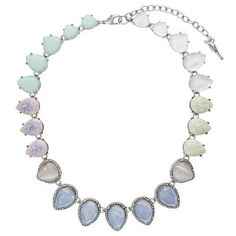 Misty Morning Statement Collar Necklace