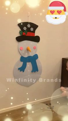 Christmas is coming! - # christmas Christmas s .-Christmas is coming! -… Christmas is coming! – # christmas Christmas is around the corner! – # Christmas the diys - Kids Crafts, Preschool Christmas Crafts, Christmas Activities For Kids, Diy And Crafts, Stick Crafts, Kids Diy, Creative Crafts, Diy Felt Christmas Tree, Christmas Balloons