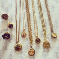 Jewelry Made With Chanel Buttons | GoTidbits