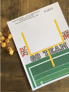 Everyday Party Magazine Paper Football Printable