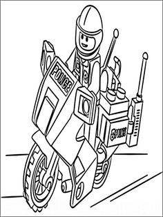 7 Best Lego City Coloring Pages Images Coloring Pages For Kids