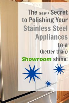 One simple tip to keep your stainless steel looking unbelievably perfect all the time.