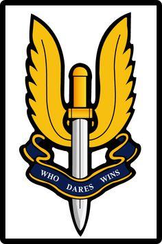 British SAS Insignia by on DeviantArt