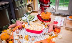 Cristina Cooks Sweet Potatoes With Marshmallows