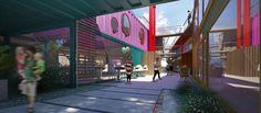 Se llama Quo Container Center y abrió sus puertas en Ingeniero Maschwitz, Partido de Escobar. Mirá cómo lo hicieron.