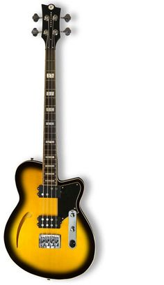 Reverend Guitars - The Dub King Music Guitar, Guitar Amp, Cool Guitar, Acoustic Guitar, Gretsch, Reverend Guitars, All About That Bass, Double Bass, Pedalboard