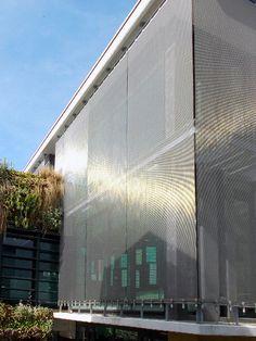 Médiathèque Les Halles, Faulquemont |  Architectural Wire Mesh Cladding