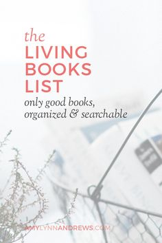 Living Books List vi