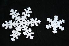 Snefnug (perler beads)