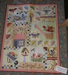 A great gardening baby quilt perhaps?