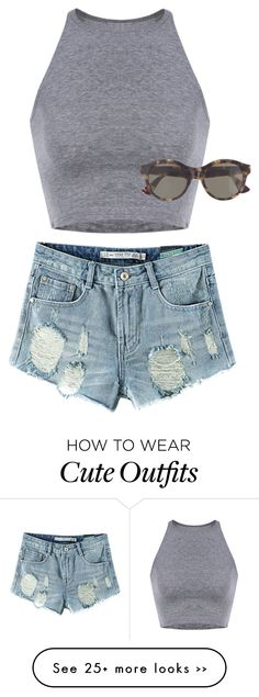 """""""casual cute outfit to go to the mall or an outlet or just a day out !!! 