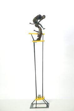Escultura de Kico de Armas fundida en esculturas bronzo