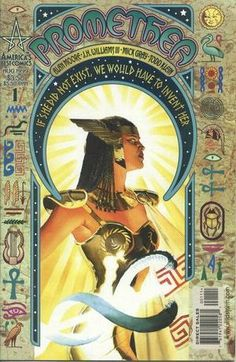 "Promethea, by Alan Moore. ""You can't really ""get"" comics until you've read something by Alan Moore. He's not always the most feminist-friendly writer in the world, but his work does amazing things with the medium. Promethea gets overly preachy (and if you ask me, kinda boring) in its later books, but its beginning is a great depiction of a strong female character and a unique representation of shared female power. Also, it's worth reading just for JH Williams' amazing art."""