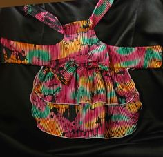 Katie Lou  Dog Dress Custom made for your canine fashionista...extra small to medium size dog by AmericanPooch on Etsy