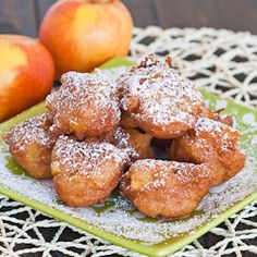 Apple Fritters - simple and delicious, perfect for when you have a sweet tooth.