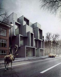 // architektur // verschachtelt