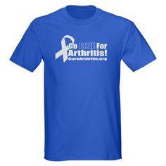 Go Blue For #Arthritis T-shirt
