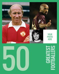 6fd16dd961 The cover of our 50 Greatest Footballers book  IATG50  Greatestfootballers  Soccer Stars