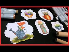 Metal Look Coloring with Markers & Colored Pencils // Stamp School // Beginner friendly - YouTube