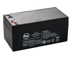 This is an AJC Brand Replacement Minuteman E BP3 12V 7Ah UPS Battery