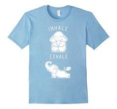 Men's Yoga T Shirt Funny Elephant Inhale Exhale Yoga T Sh... https://www.amazon.com/dp/B01MTKC9N5/ref=cm_sw_r_pi_dp_x_7iFyybAQY5G2C