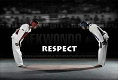 Respect.                                                                                                                                                     More