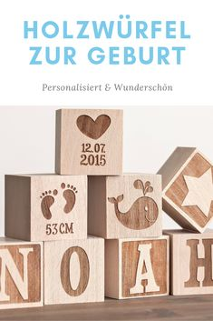 Personalisierte Holzwürfel mit Gravur Wooden cube birth, baby, baby gift idea, personalized cube, gift idea birth Related posts:Sugar sweet recipes for Valentine's Day: give with loveBecause affection and love is harder for men to. Baby Pictures, Baby Photos, Smart Baby Monitor, Baby Tumblr, Baby Zimmer, Wooden Cubes, Diy Crafts To Do, Birth Gift, Baby Blog