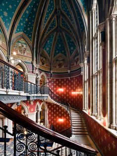 St. Pancras Hotel, London - Sir George Gilbert Scott - http://media.vogue.com/files/