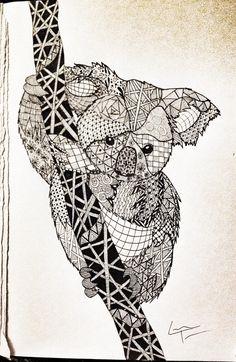 Resultado de imagen para pandas con mandalas