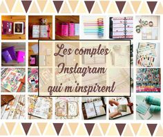 Instagram: Mes inspirations planners favorites