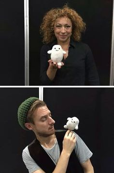 River Song, Rory Williams and ADIPOSE :)