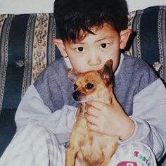 EXO's Chanyeol Is Wide Eyed and Adorable in Newly Revealed Baby Photo Chanyeol Cute, Park Chanyeol Exo, Kpop Exo, Exo Chanyeol, Exo K, Kyungsoo, Chansoo, Chanbaek, 2ne1